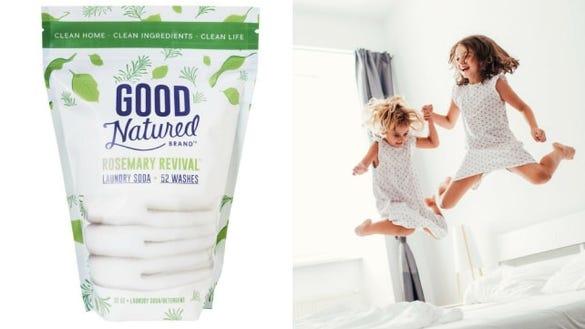 Good Natured Brand Rosemary Laundry Soap