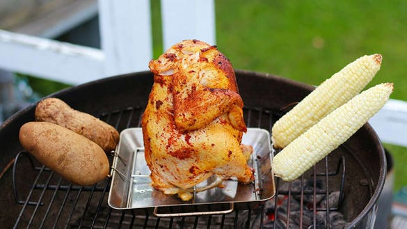 Cave Tools Beer Can Chicken Roaster Rack