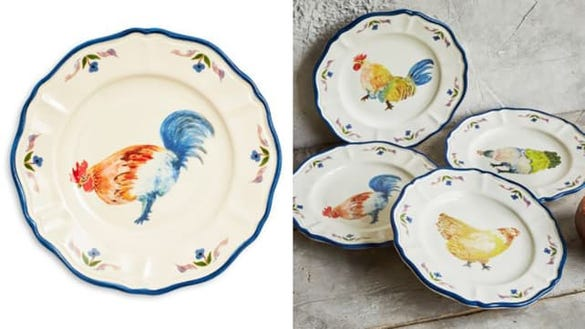Assorted Chickens Appetizer Plates