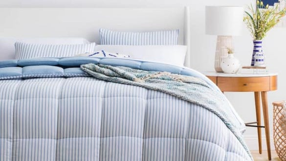 Linenspa Nautical Chambray Comforter Set