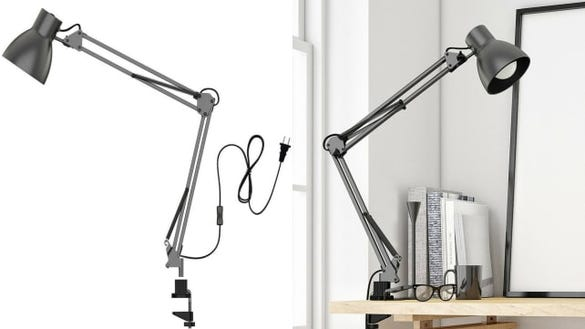 Metal Architect Lamp