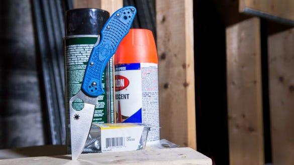 Spyderco Pocket Knife
