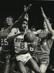 Marques Johnson is near the top of many of the Bucks'