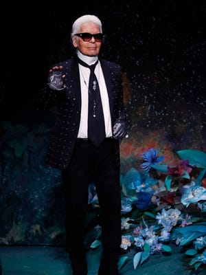 Karl Lagerfeld, a fountain of controversial quotes, is at it again.