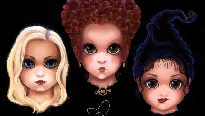 "Sanderson Sisters from Disney's ""Hocus Pocus"" movie"