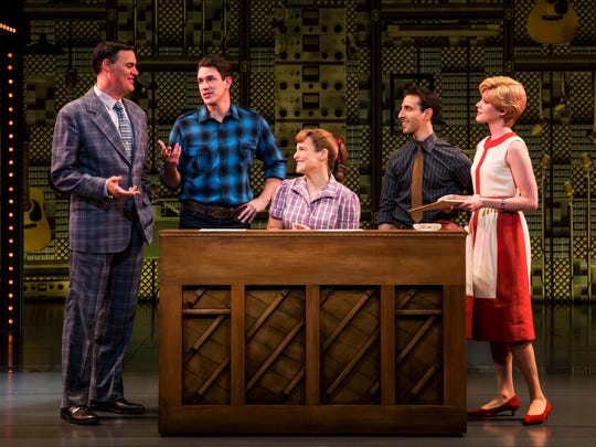 "A scene from ""Beautiful: The Carole King Musical."""