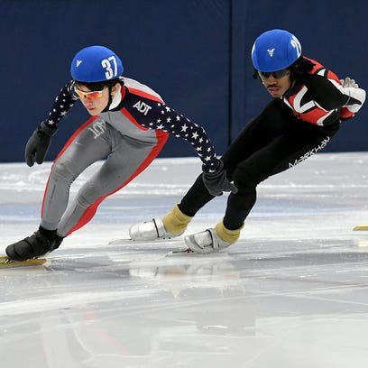 After Olympics, locals zip into speedskating