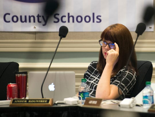 Knox County Board of Education Vice Chair Amber Rountree