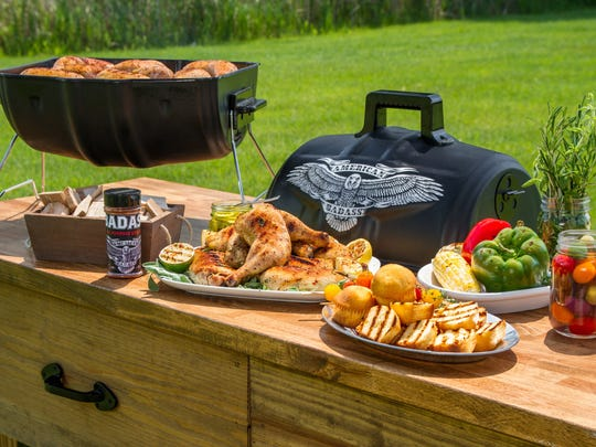 "Kid Rock is endorsing the new ""American Badass Grill."""