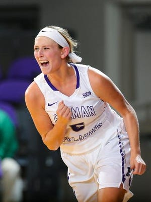 Carolina Day graduate Allison Beasley is a junior for the Furman women's basketball team.