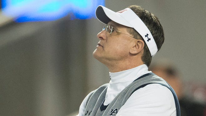 Auburn coach Gus Malzahn's named has surfaced in NFL circles.