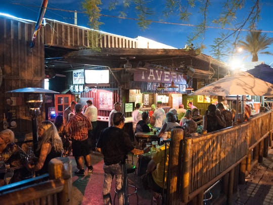 This tiny wooden house turned bar stands out in Scottsdale for being the antithesis of the city's usual swanky nightspots.