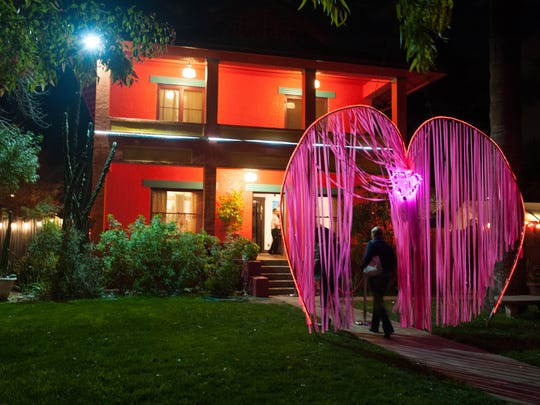 The Exotic Phantasmagorical Spectacular at the Alwun House in Phoenix is an annual affair, part of the Exotic Art Show.