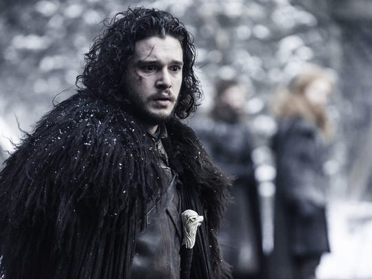 Jon Snow (Kit Harington) in 'Game of Thrones'
