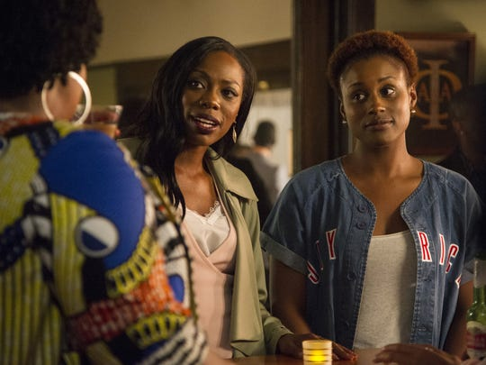 "Inseparable friends Molly (Yvonne Orji, left) and Issa (Issa Rae) are at the heart of HBO's ""Insecure."""