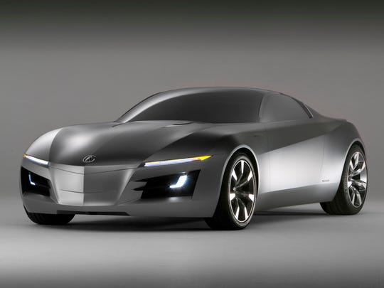 Acura Advanced Sports Car Concept debuted at 2007 North