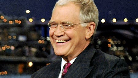 """In this photo released by CBS, Republican Presidential candidate Sen. John McCain, left, talks with host David Letterman on the set of """"The Late Show with David Letterman,"""" Thursday, Oct. 16, 2008 in New York. (AP Photo/CBS, J.P. Filo) **MANDATORY CREDIT; NORTH AMERICAN USE ONLY; NO SALES**   Original Filename: People_McCain_Letterman_NYR106.jpg"""