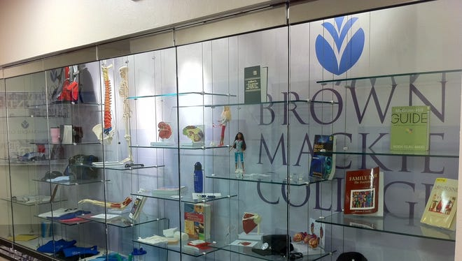 A view of Brown Mackie College's satellite location on the fourth floor of Circle Centre mall.