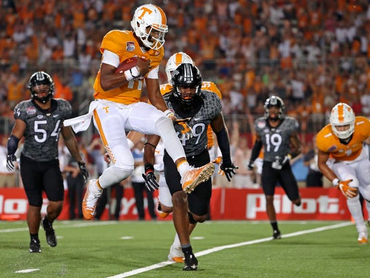 USP NCAA FOOTBALL: BATTLE AT BRISTOL-TENNESSEE VS S FBC USA TN