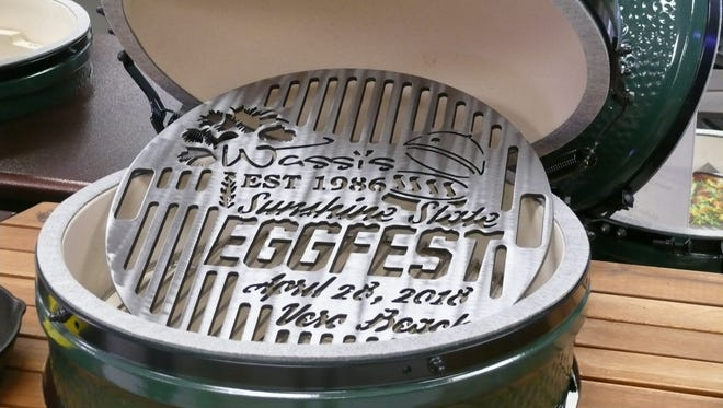 This year's Sunshine State Eggfest, set for , Saturday, April 28, moves from Cape Canaveral to the Indian River County Fair Grounds in Vero Beach.
