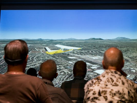 Flight simulator brings out inner pilot in West Valley