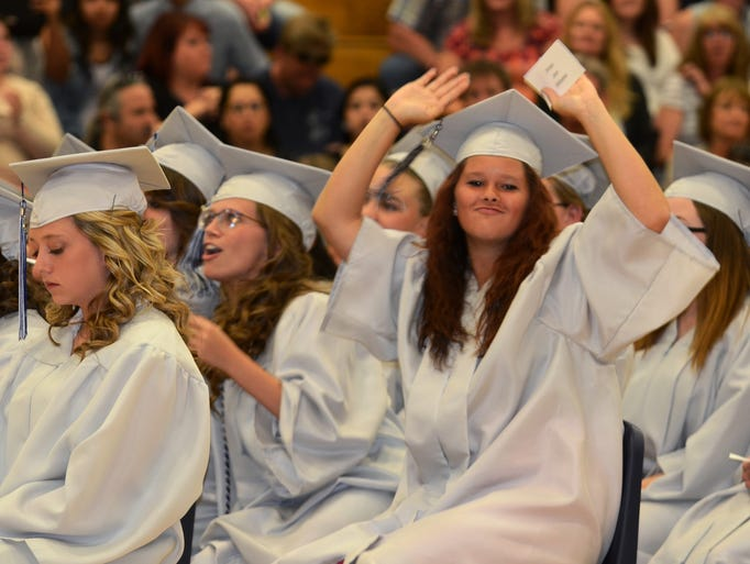 Images from the 2014 Silver Stage High School graduation ceremony on May 29.
