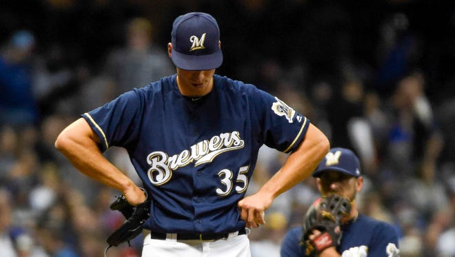 Brent Suter is one of just two lefties who have pitched for the Brewers. Suter is currently at Class AAA Colorado Springs, while the other southpaw, Tommy Milone, was released.