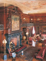 George Vanderbilt amassed more than 22,000 books for his library in his Asheville home.