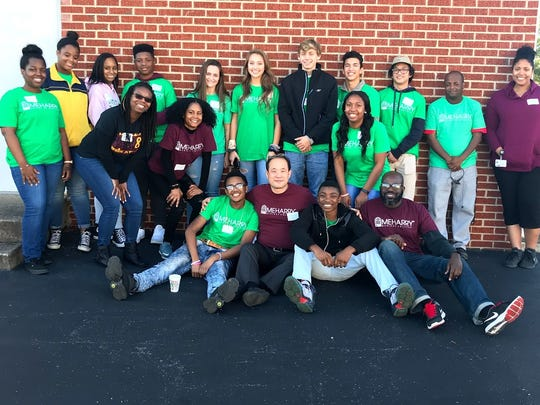 Wansoo Im, associate professor at Meharry and director of its National Mapping Institute, worked with students from Meharry and Gallatin and Station Camp high schools to find safe walking areas of Gallatin Dec. 2.