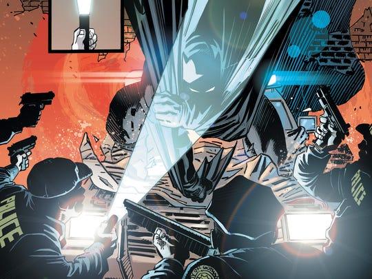 Batman isn't seeing eye to eye with Gotham cops in