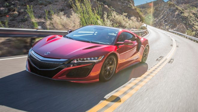 2017 Acura NSX is fast and fun -- on the road or track.