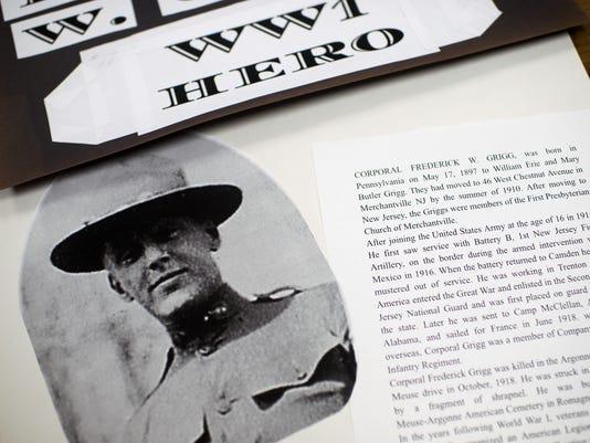 Merchantville students research 135 local World War I vets