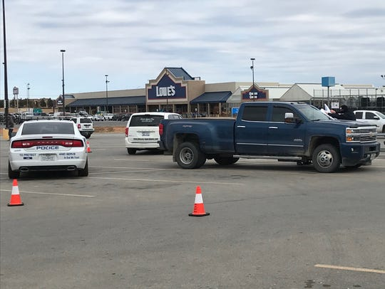 San Angelo police investigate where a body was found