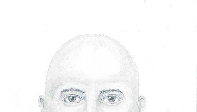 The Waupaca County Sheriff's Department released a sketch of the suspect in Monday night's attempted rape.