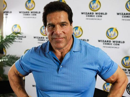 Actor Lou Ferrigno