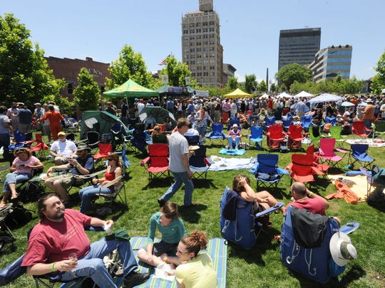 The Beer City Festival returns 1-6 p.m. May 30 at Asheville's Roger McGuire Green at Pack Square Park. It's the key event in Asheville Craft Beer Week.