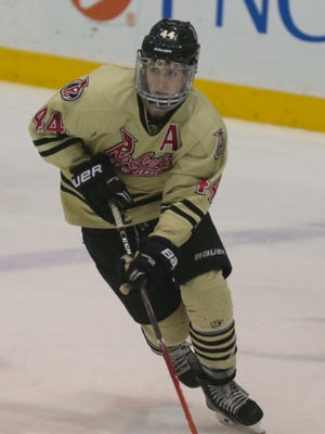 Toms River native Cam Dineen, seen skating for the New Jersey Rockets Hockey Club, has commited to play for the North Bay Battalion of the Ontario Hockey League.