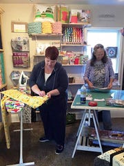 The Quilt Store Next Door held a two-day charity-driven