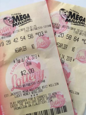 Tuesday night's Mega Millions has a huge jackpot.
