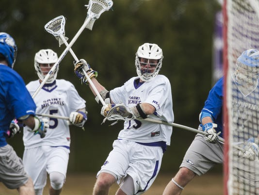 Assumption vs. St. Michael's Men's Lacrosse 04/25/15