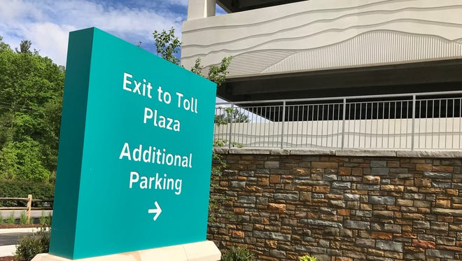 The new $22M parking deck at Asheville Regional opened late last year. It offers long-term parking but at a higher rate than surface lots.