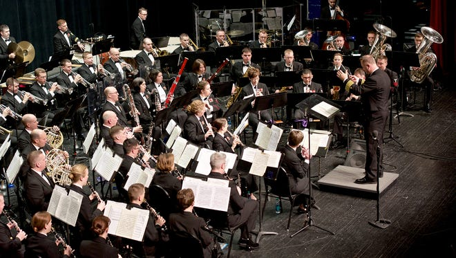 The US Navy Band Concert Band, the Navy Band's premiere wind ensemble, will perform in Hershey on Monday, Feb. 22 at 7 p.m. The free performance is part of their national tour, and will feature a variety of musical styles.