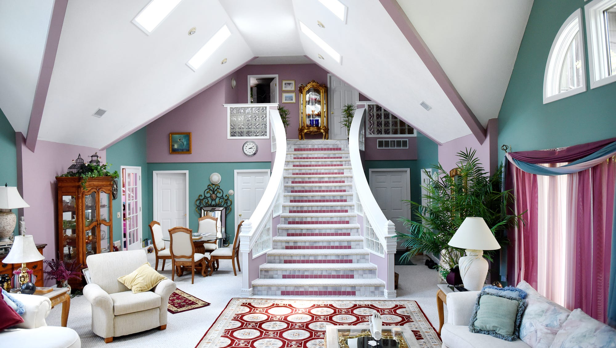 Cadillac Bar Titanic Inspired Stairway In Discount Dave S Home