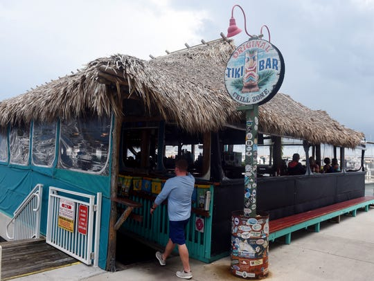 The Original Tiki Bar & Restaurant was built at the