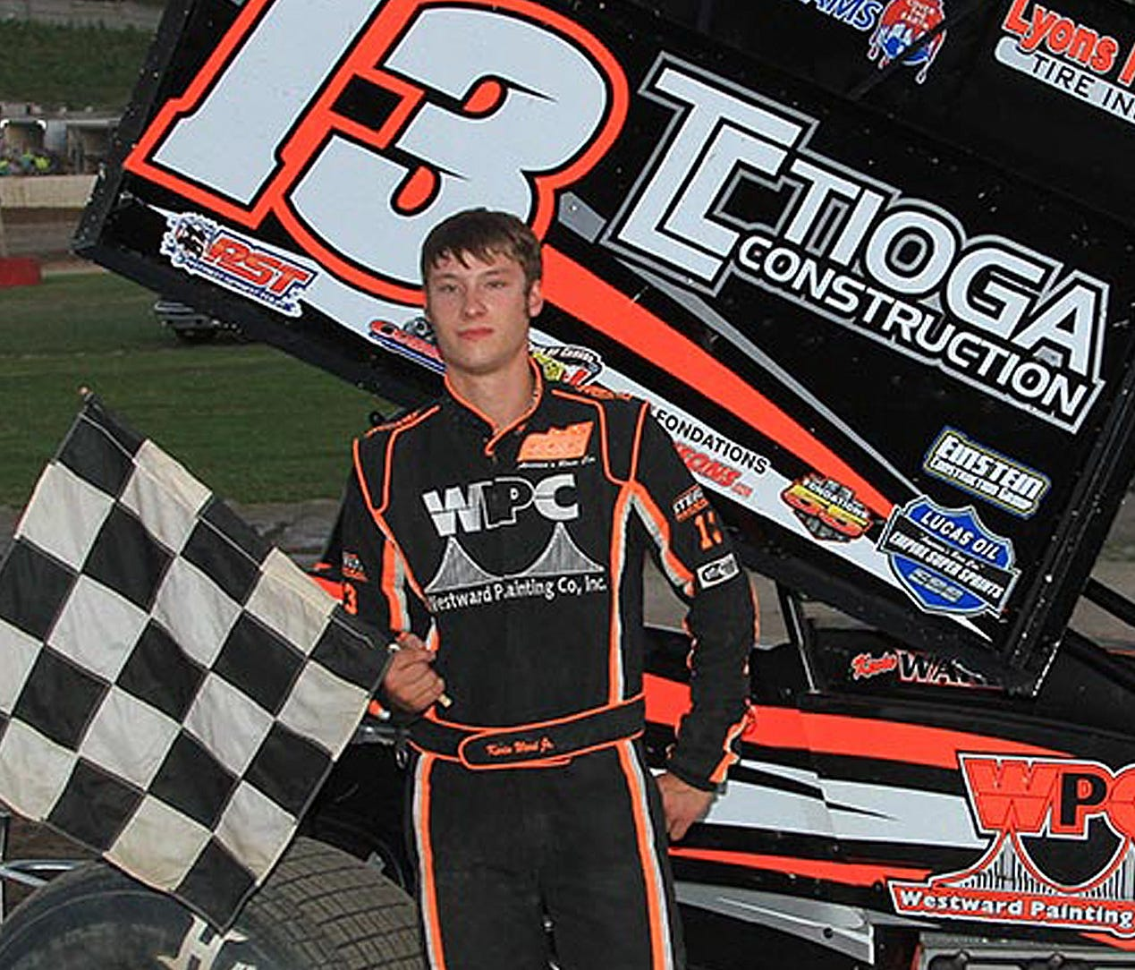 Sprint car driver Kevin Ward Jr. died after being struck at Canandaigua (N.Y.) Motorsports Park in August 2014.