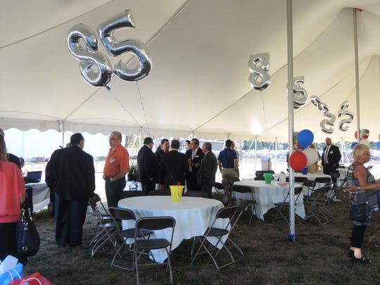 "On Sept. 12, Berkeley College in Woodbridge welcomed business leaders and area chambers of commerce for its second annual Under the Tent event. Attended by nearly 100 people, the event featured food, music and networking, as well as a celebration of the College's milestone year. ""Berkeley College is celebrating its 85th anniversary, and our roots are here in New Jersey,"" said Michael J. Smith, President of Berkeley College. ""You have employed our students, you have welcomed them as interns. We believe in the impact of higher education on the vitality of the communities we serve and we thank you for being an important part of our success."""