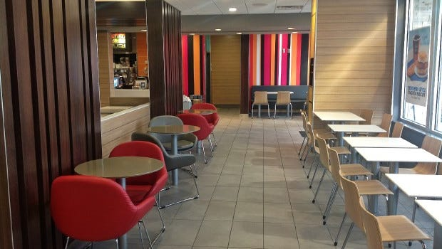 McDonald's restaurants have been among customers of Milwaukee-based Interior Systems Inc.
