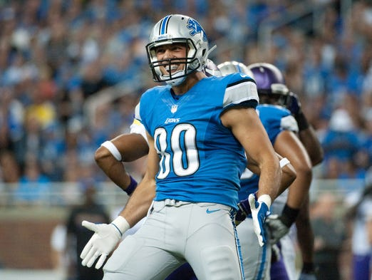 JOSEPH FAURIA: Lions rookie Joseph Fauria became the first tight end in franchise history last week to have three touchdown receptions in the same game. Five of his seven catches this season have been a TD.