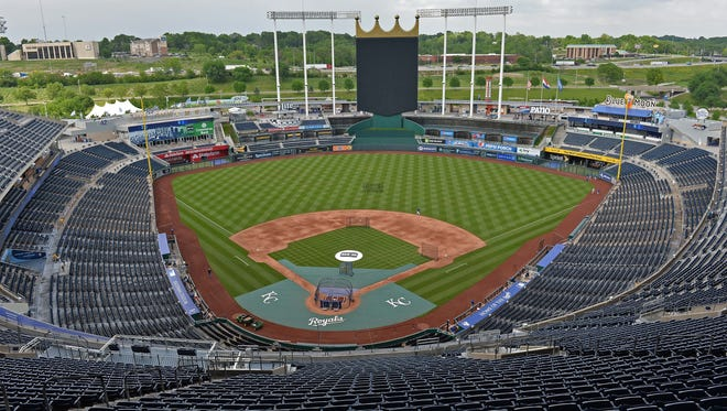 The Kansas City Royals are facing criticism from a women's advocacy group for running ads from an anti-abortion organization.