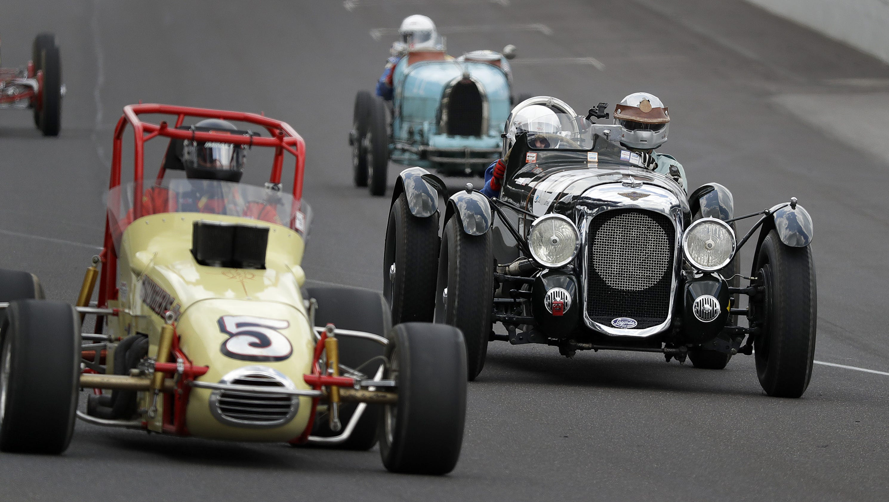 Racing legends and legendary cars will be returning to IMS this weekend